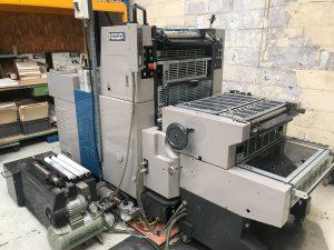 Offset RYOBI 520NP 1 couleur 36 x 52cm avec groupe N° et perforation